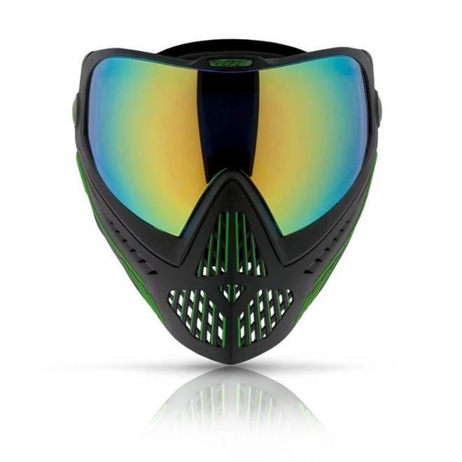 Goggle DYE I5 Emerald (black/lime)