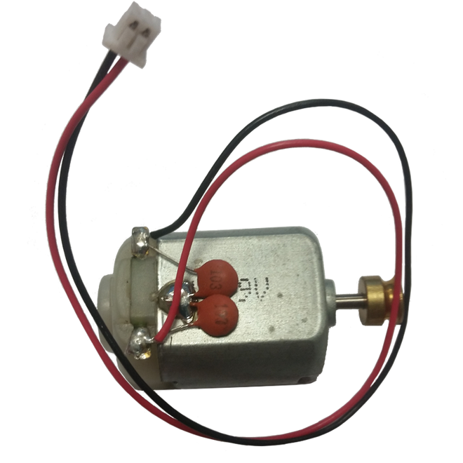 Empire DFender Part #83 Motor w/Wiring Harness
