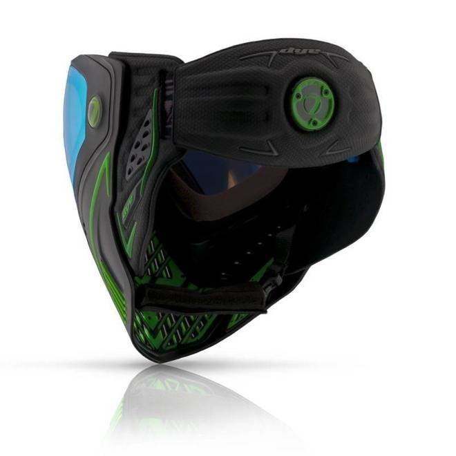 Maska DYE I5 Emerald (black/lime)